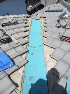 練馬区の上石神井南町で、瓦屋根修理工事_c0223192_18023492.jpg