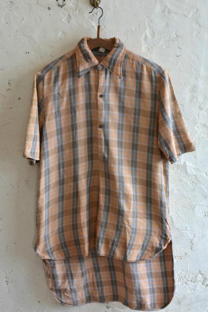 European Vintage short- sleeve shirt_f0226051_16251224.jpg