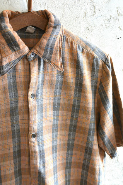 European Vintage short- sleeve shirt_f0226051_16251986.jpg