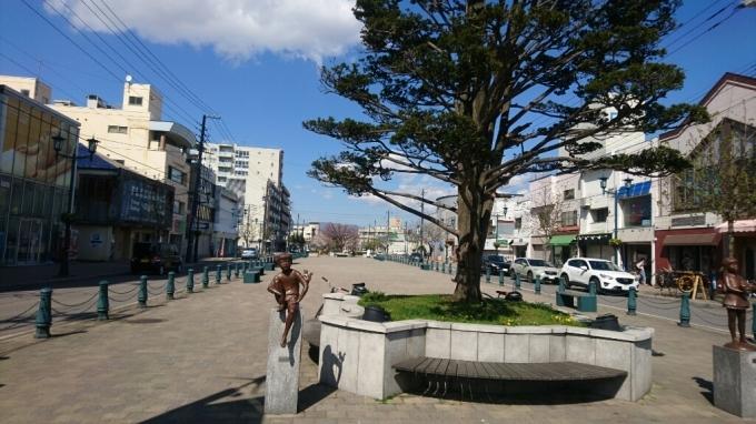 2017年5月12日(金)今朝の函館の天気と気温は。映画PとJKロケ地の写真_b0106766_06161994.jpg