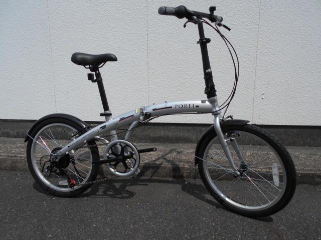 いいかんじの折りたたみ自転車が入荷してます_b0189682_12264334.jpg