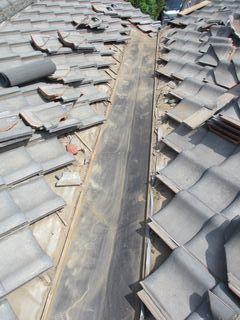 練馬区の上石神井南町で、瓦屋根修理_c0223192_22435604.jpg