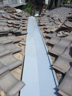 練馬区の上石神井南町で、瓦屋根修理_c0223192_22440057.jpg