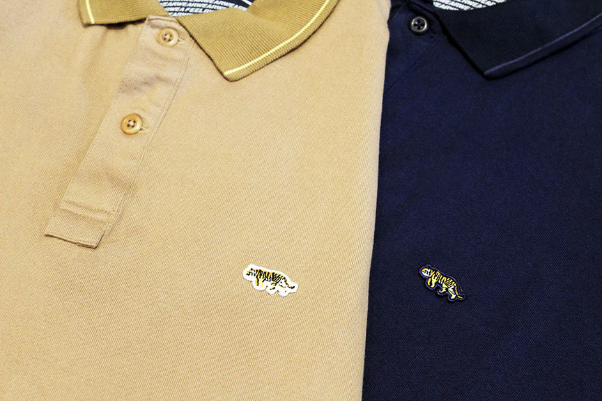 "THE FABRIC (ザ・ファブリック) "" TIGER POLO SHIRTS \""_b0122806_12493881.jpg"
