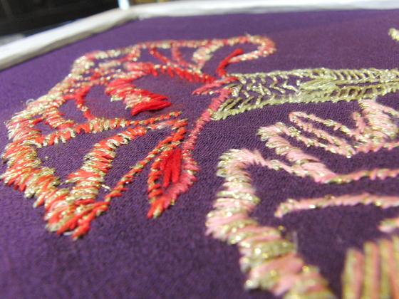 刺繍 ~ カーネーション ~_e0222340_15205217.jpg