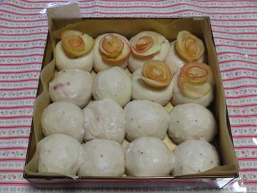 母の日の薔薇ちぎりパン_a0150910_19221960.jpg