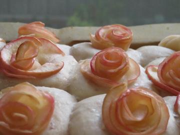 母の日の薔薇ちぎりパン_a0150910_1929113.jpg