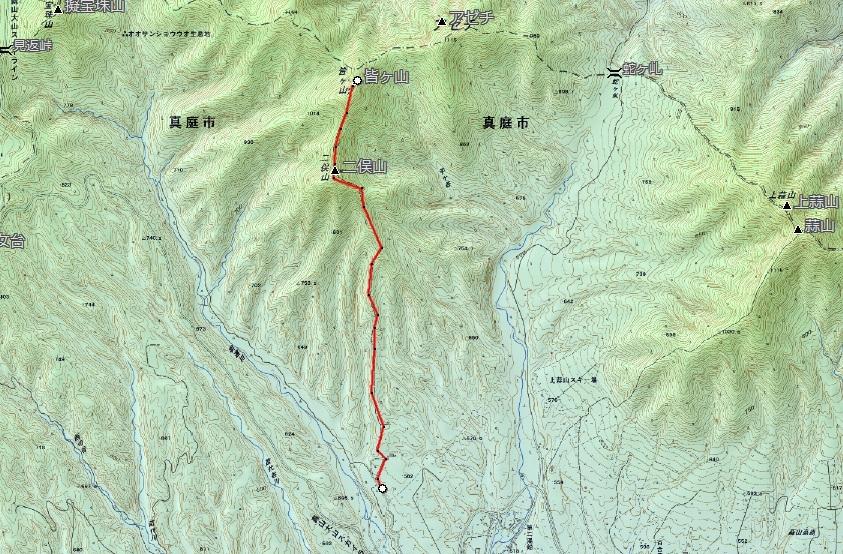 皆ガ山(1.159m)登山_d0007657_17015760.jpg