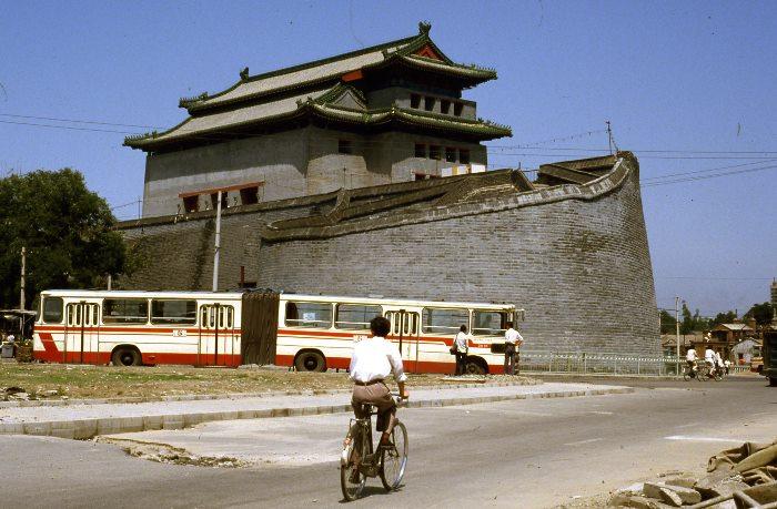 1986年の北京の街道光景_c0182775_1451655.jpg