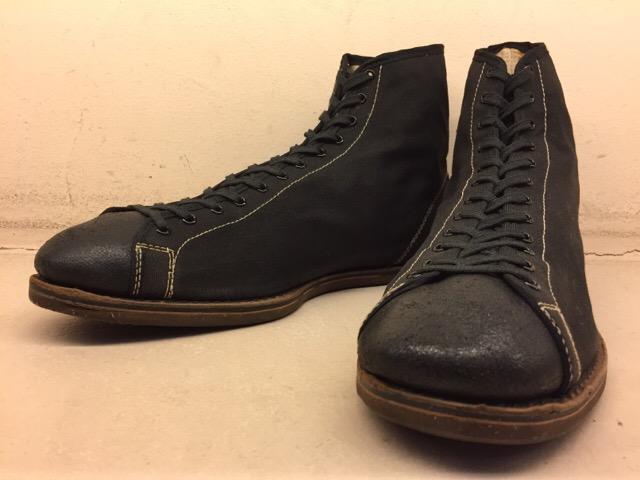 5月17日(水)大阪店ヴィンテージ&スニーカー入荷!#1 VintageSneaker編!20~30\'sBlackHi&ChuckTaylor!!_c0078587_1948829.jpg
