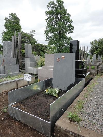 お墓プロジェクト 8   工事は終わった。_a0122098_2057015.jpg