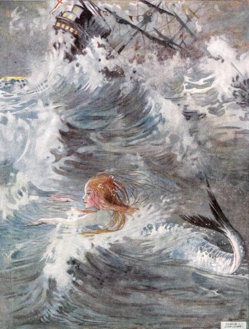 Honor C. Appleton画の人魚姫③_c0084183_148398.jpg