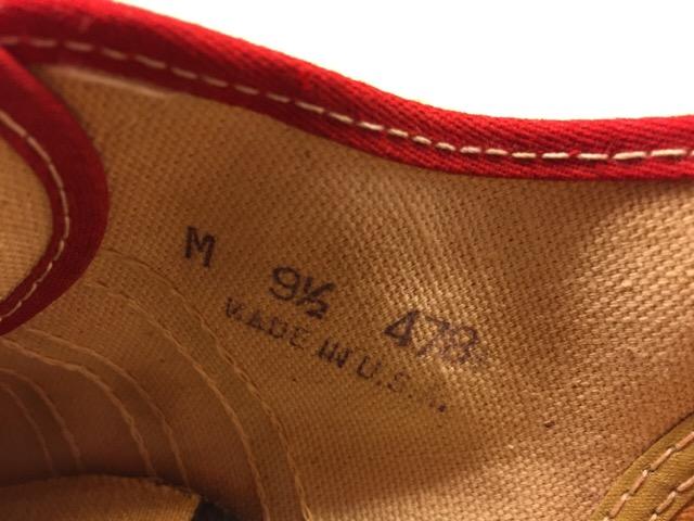 5月17日(水)大阪店ヴィンテージ&スニーカー入荷!#1 VintageSneaker編!20~30\'sBlackHi&ChuckTaylor!!_c0078587_0124577.jpg