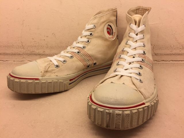 5月17日(水)大阪店ヴィンテージ&スニーカー入荷!#1 VintageSneaker編!20~30\'sBlackHi&ChuckTaylor!!_c0078587_0174875.jpg
