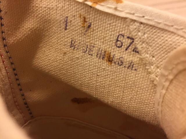 5月17日(水)大阪店ヴィンテージ&スニーカー入荷!#1 VintageSneaker編!20~30\'sBlackHi&ChuckTaylor!!_c0078587_0175537.jpg