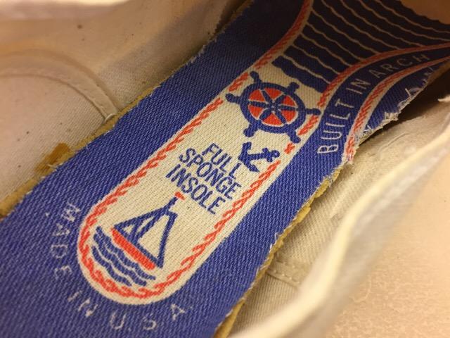 5月17日(水)大阪店ヴィンテージ&スニーカー入荷!#1 VintageSneaker編!20~30\'sBlackHi&ChuckTaylor!!_c0078587_0194550.jpg