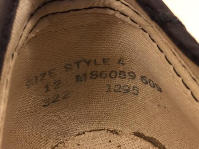 5月17日(水)大阪店ヴィンテージ&スニーカー入荷!#1 VintageSneaker編!20~30\'sBlackHi&ChuckTaylor!!_c0078587_074938.jpg