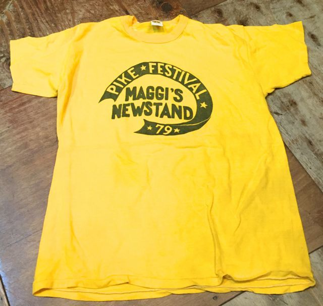 5月20日(土)入荷!70s ラッセル ゴールドタグ 染込みプリント Tシャツ!_c0144020_13445319.jpg