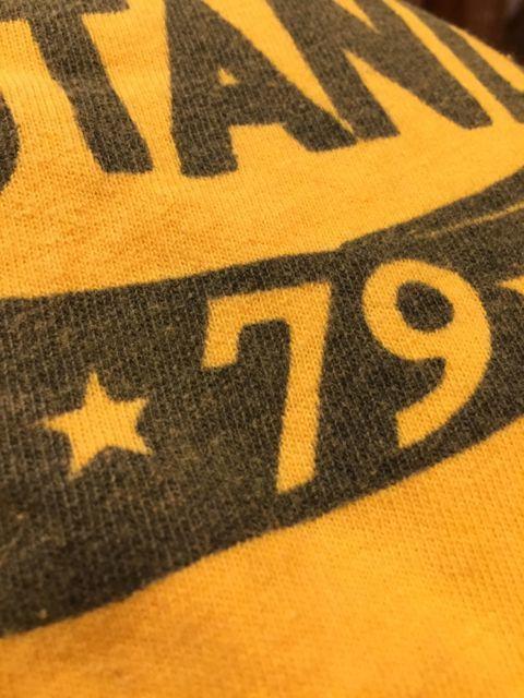 5月20日(土)入荷!70s ラッセル ゴールドタグ 染込みプリント Tシャツ!_c0144020_13445730.jpg