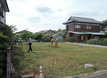 横浜M邸地鎮祭_d0017039_22005085.jpg