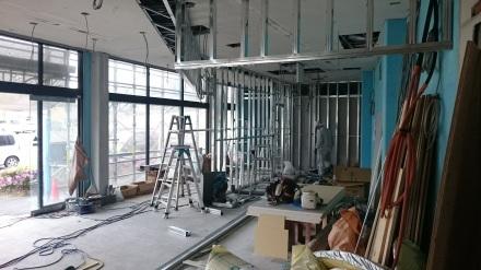 『おむすび屋さん』のリノベーション工事が始まりました。#店舗はテンポよく♪_e0197748_13365854.jpg