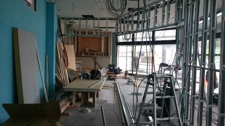 『おむすび屋さん』のリノベーション工事が始まりました。#店舗はテンポよく♪_e0197748_13373509.jpg