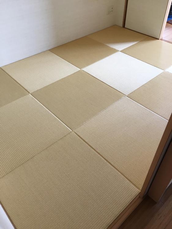 練馬区/琉球畳6900円〜施工例&日記_b0142750_16484411.jpg