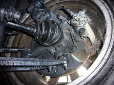 VW EOS(イオス)定期点検及びドライブシャフトブーツ交換_c0267693_18310228.jpg