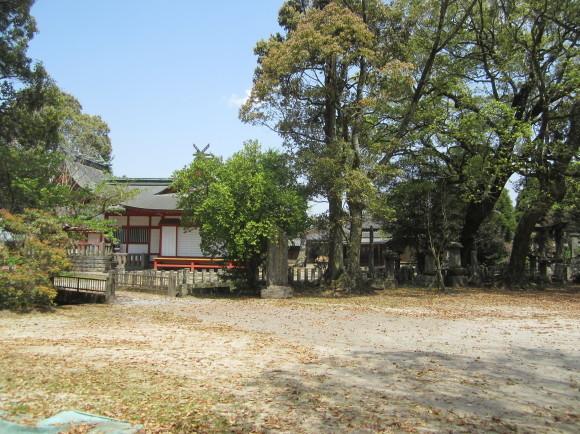 賀茂神社の古墳・うきはの春_a0237545_10010315.jpg