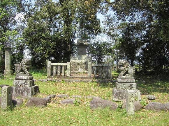 賀茂神社の古墳・うきはの春_a0237545_13505232.jpg