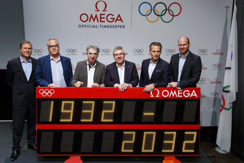 オメガ、国際オリンピック委員会(IOC)とのパートナーシップを2032年まで延長_f0039351_1654768.jpg