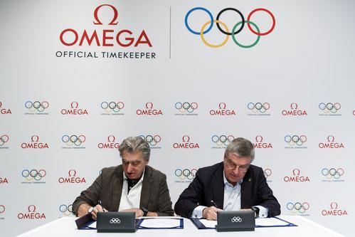 オメガ、国際オリンピック委員会(IOC)とのパートナーシップを2032年まで延長_f0039351_1661446.jpg