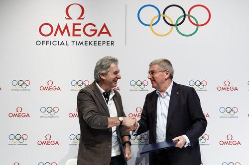 オメガ、国際オリンピック委員会(IOC)とのパートナーシップを2032年まで延長_f0039351_1663864.jpg