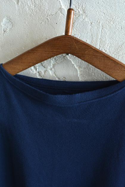 Italian navy boat neck t-shirts over dyed_f0226051_14052293.jpg
