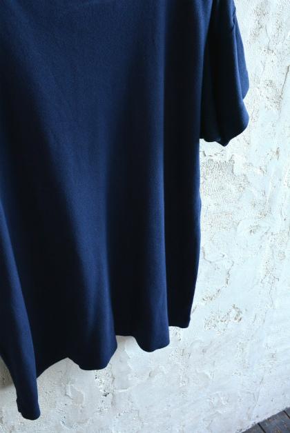 Italian navy boat neck t-shirts over dyed_f0226051_14052564.jpg