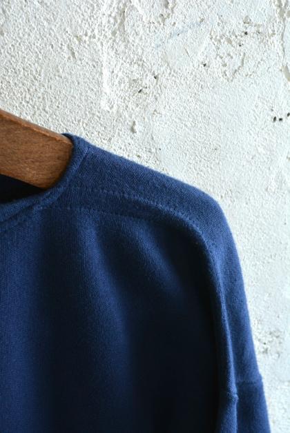 Italian navy boat neck t-shirts over dyed_f0226051_14061581.jpg