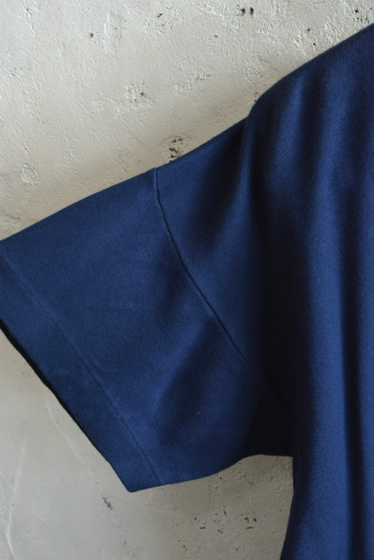 Italian navy boat neck t-shirts over dyed_f0226051_14101429.jpg