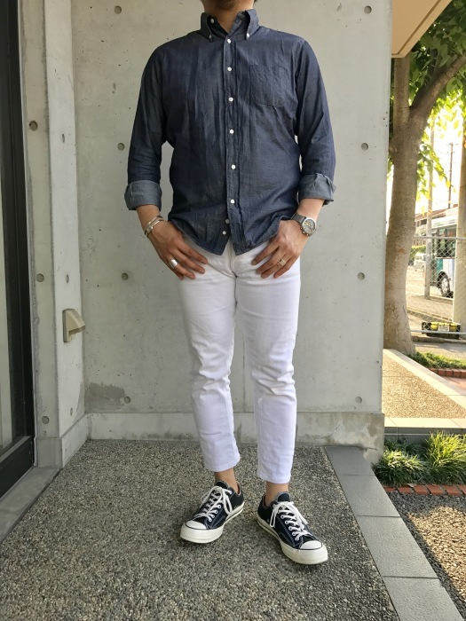 INDIVIDUALIZED SHIRTS 。。。DENIM Shambre・其の②!★!_d0152280_14505227.jpg