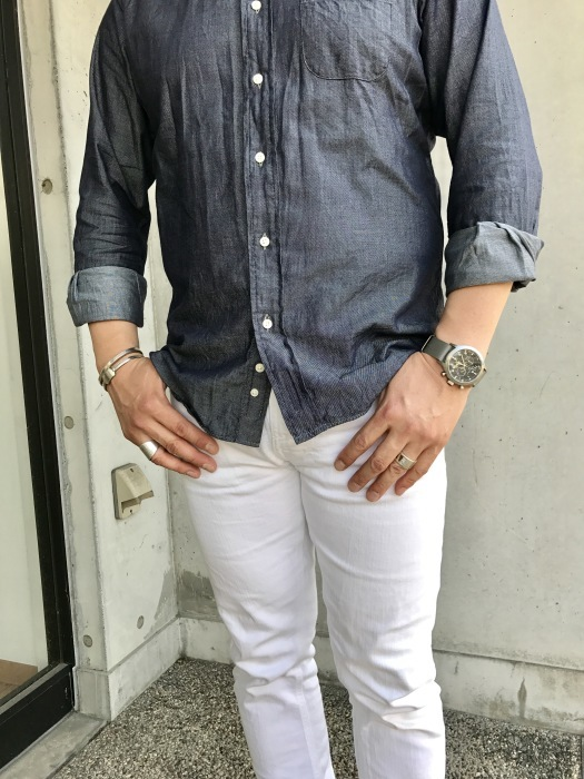 INDIVIDUALIZED SHIRTS 。。。DENIM Shambre・其の②!★!_d0152280_14511762.jpg