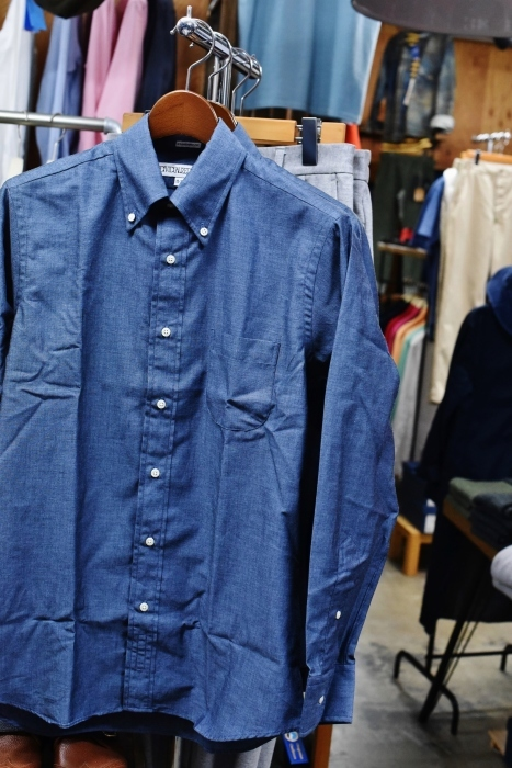 INDIVIDUALIZED SHIRTS 。。。DENIM Shambre・其の②!★!_d0152280_15050416.jpg