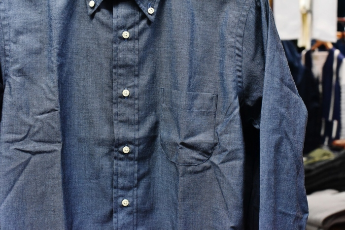 INDIVIDUALIZED SHIRTS 。。。DENIM Shambre・其の②!★!_d0152280_15355240.jpg