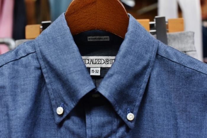 INDIVIDUALIZED SHIRTS 。。。DENIM Shambre・其の②!★!_d0152280_15365187.jpg