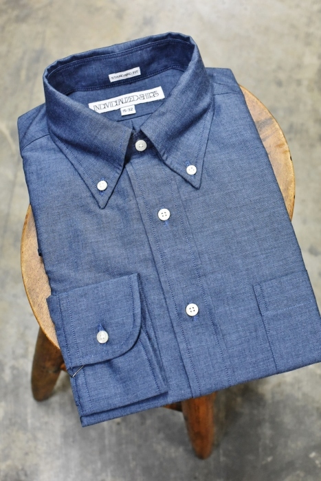 INDIVIDUALIZED SHIRTS 。。。DENIM Shambre・其の②!★!_d0152280_15373469.jpg