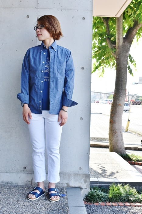 INDIVIDUALIZED SHIRTS 。。。DENIM Shambre・其の②!★!_d0152280_15534766.jpg