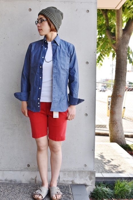 INDIVIDUALIZED SHIRTS 。。。DENIM Shambre・其の②!★!_d0152280_15551151.jpg