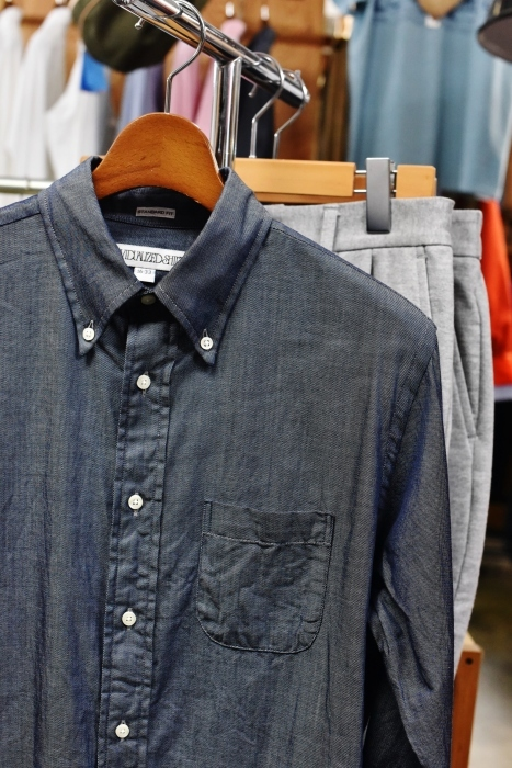 INDIVIDUALIZED SHIRTS 。。。DENIM Shambre・其の②!★!_d0152280_16074116.jpg