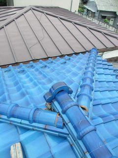 朝霞市の根岸台で、雨漏り修理工事_c0223192_18121947.jpg