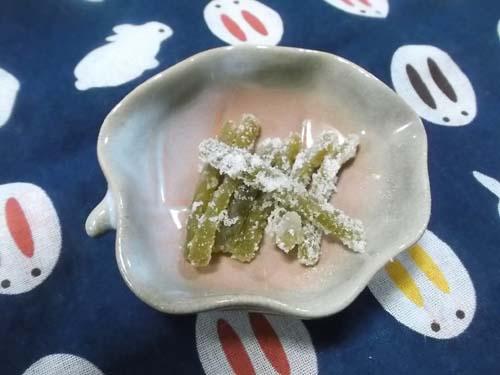 長男からの母の日メール&ふきの砂糖菓子_f0019498_6491335.jpg