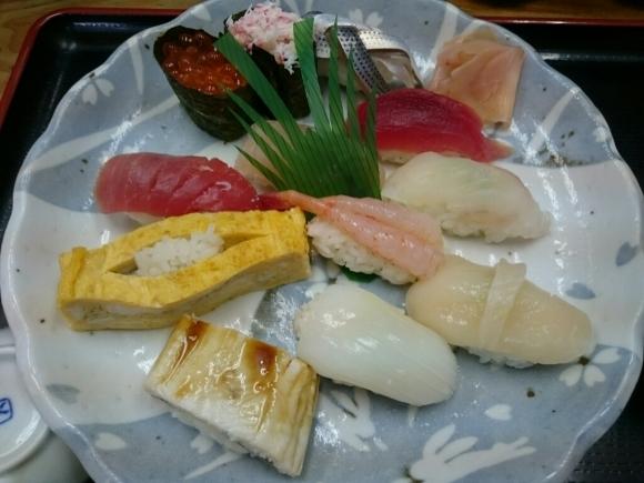 5/17夜勤明け  市場寿司たか  名物にぎり¥1,000 + 小肌 ¥150 @八王子卸売センター_b0042308_16232172.jpg