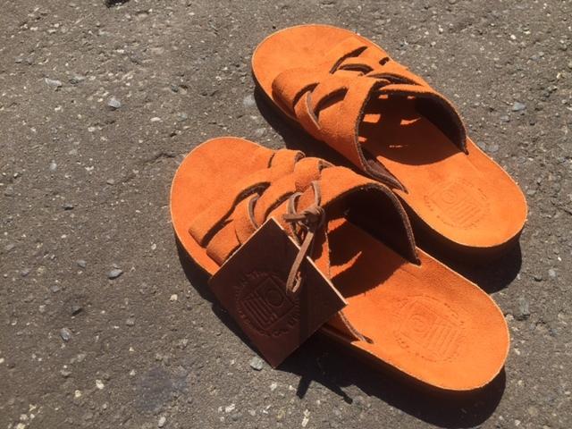 THE SANDALMAN leather sandal !!_d0165136_16565044.jpg